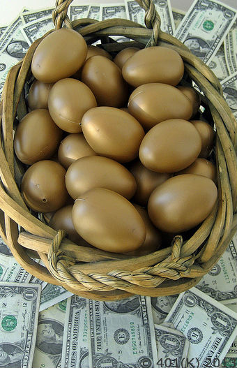 Estate planning documents in combination with strategic investment leads to not having all your eggs in one basket