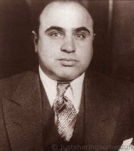 Al Capone is just one of the many famous people who failed to follow the income tax law rules