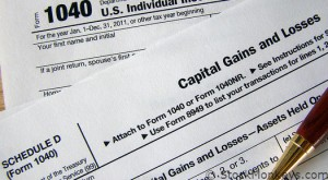Current foreclosure tax law requires borrowers to file taxes for capital gains or losses & income earned as debt-relief for borrowers holding recourse loans